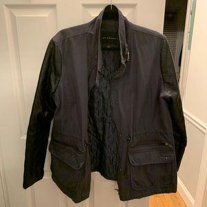 Rock and Republic Navy/blk Utility Jacket XL